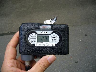 酸素濃度計測