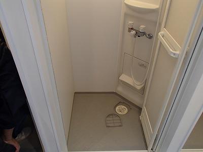 シャワー室のお掃除