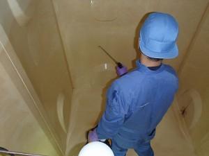 深夜貯水槽清掃(2)