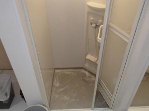 シャワーブース清掃検証(2)