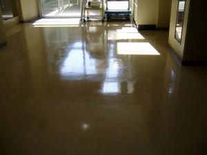 床のくすみ(1)