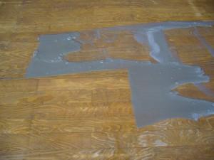 保育園木床清掃(2)