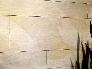 シール剥がし跡清掃(2)
