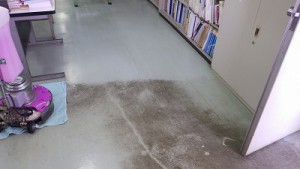 事務所清掃汚れ落とし(1)